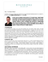 Dr Ravi Jain introduces Invisible Aesthetics & R-Lift AUS